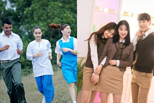 The differences between Korean schools and Malaysian schools 1