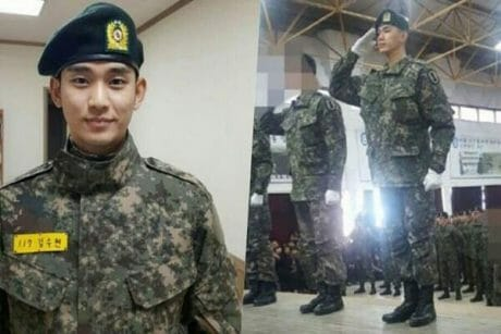 Kim Soo Hyun is back from military service! 13