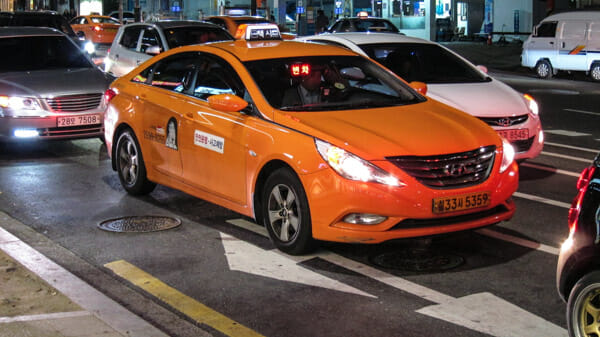 taxi korea transportation transportation in south korea deluxe taxi