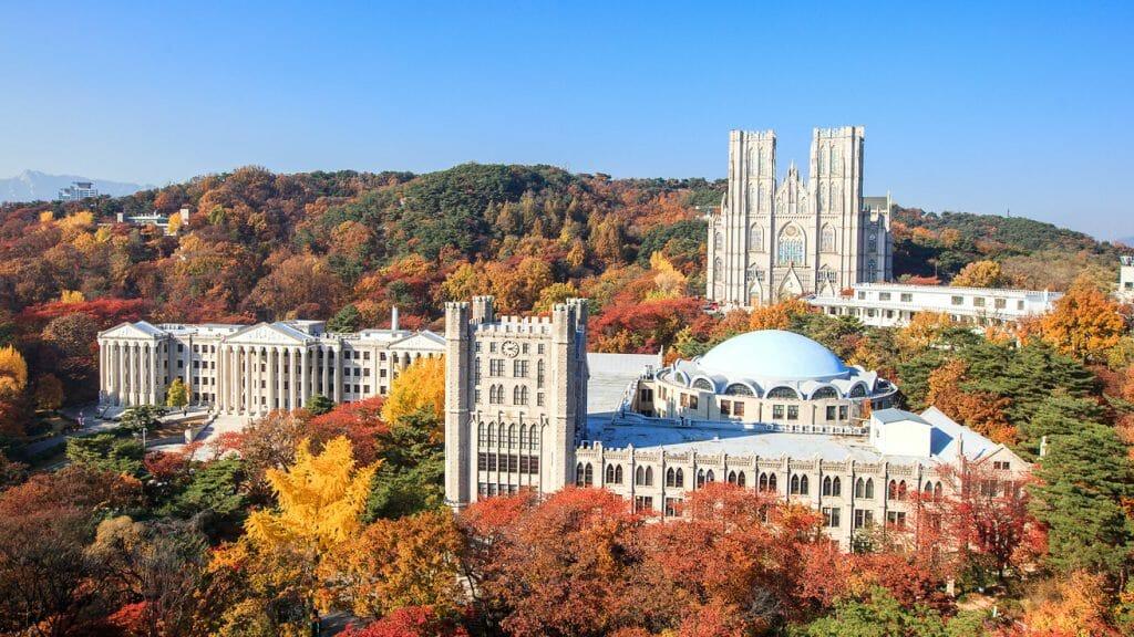 Top 5 Most Beautiful Korean University Campus 3