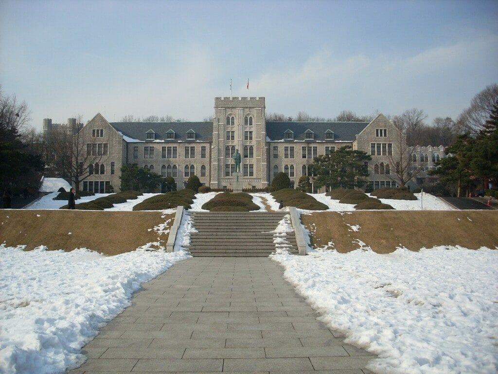 Top 5 Most Beautiful Korean University Campus 15