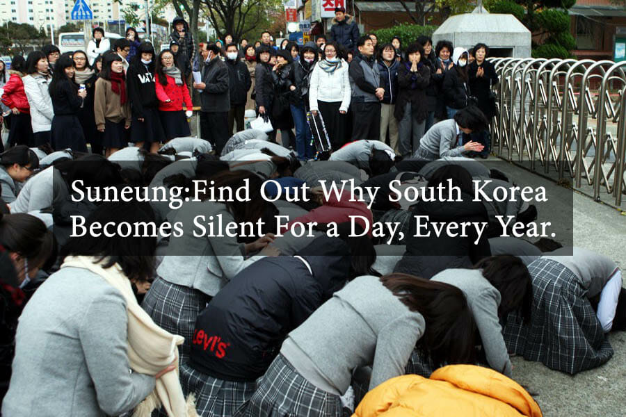 Suneung: Find Out Why South Korea Becomes Silent For a Day, Every Year. 7
