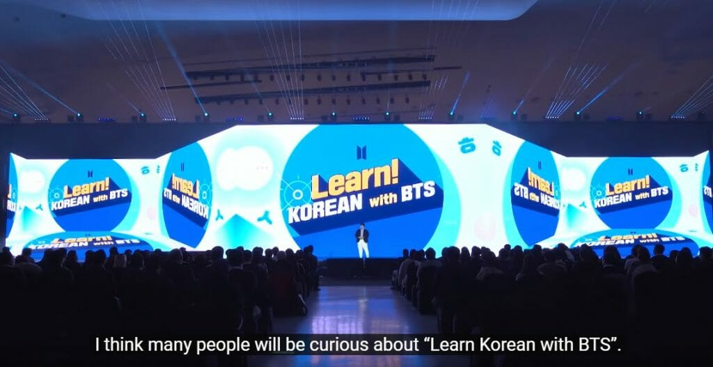 You'll be Able to Learn Korean with BTS Soon 3
