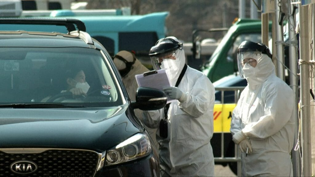 South Korea Is Now Using Drive-Thru Clinics To Test Patients For Coronavirus 1