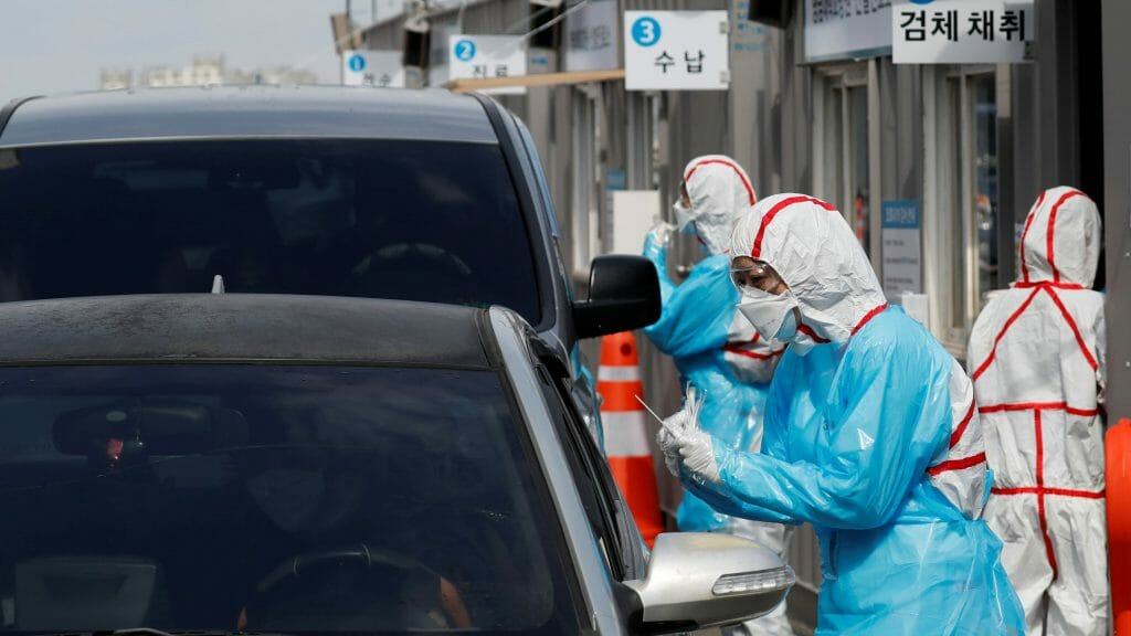 South Korea Is Now Using Drive-Thru Clinics To Test Patients For Coronavirus 2