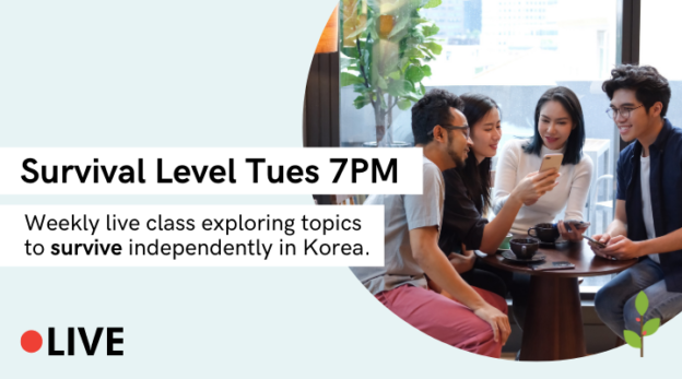 Yoon Ssam's Live Class (Survival Level, Tues 7PM) 10